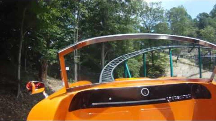 Verbolten Front Seat POV Video Busch Gardens Williamsburg 2012 Roller Coaster