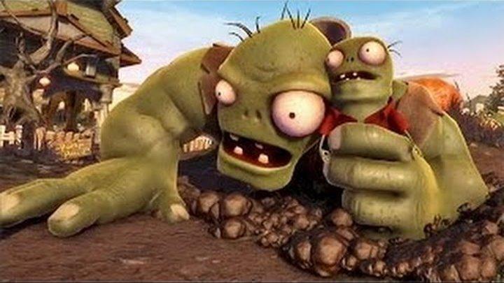 Мультик Растения против Зомби Cartoon Plants vs Zombies