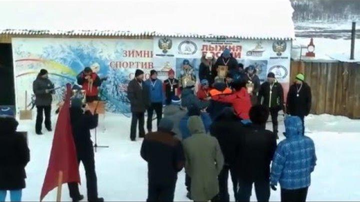 Лыжные гонки среди команд силовых структур 19 02 2016год Награждение