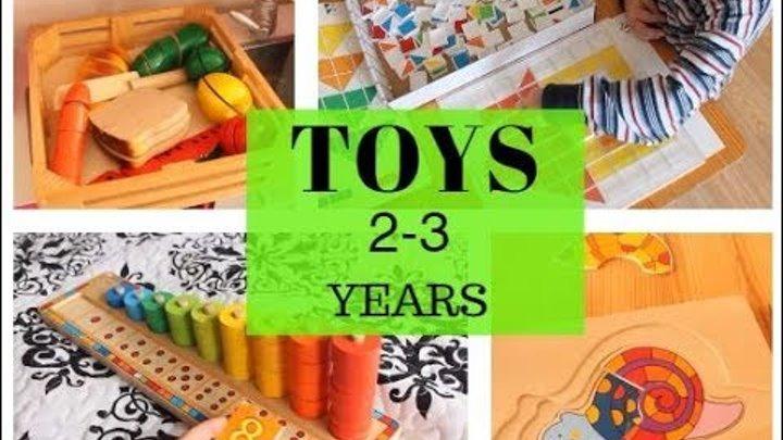 ДЕТСКИЕ ИГРУШКИ 2-3 ГОДА. Развивающие игрушки для детей