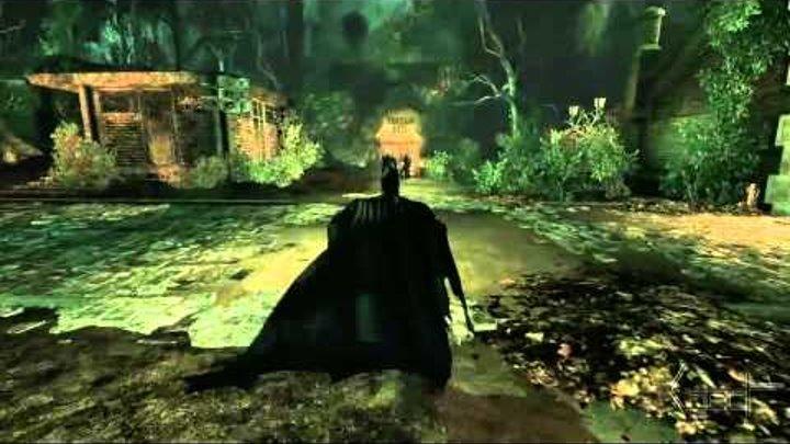 Прохождение Игры Batman Arkham Asylum (Часть7) Крест