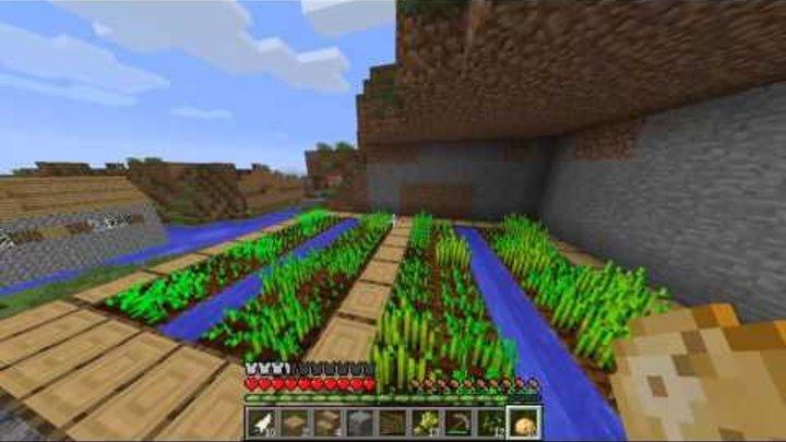 Выживание в деревне 2 часть майнкрафт