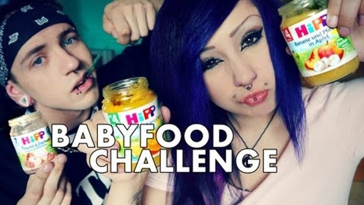 Verena Schizophrenia | BABYFOOD CHALLENGE ♥