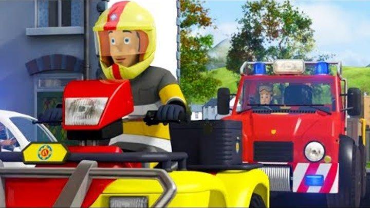 Пожарный Сэм на русском   Лягушачья Фантазия 🚒 Пожарный Сэм спасает день   Новые серии 🔥 мультфильм