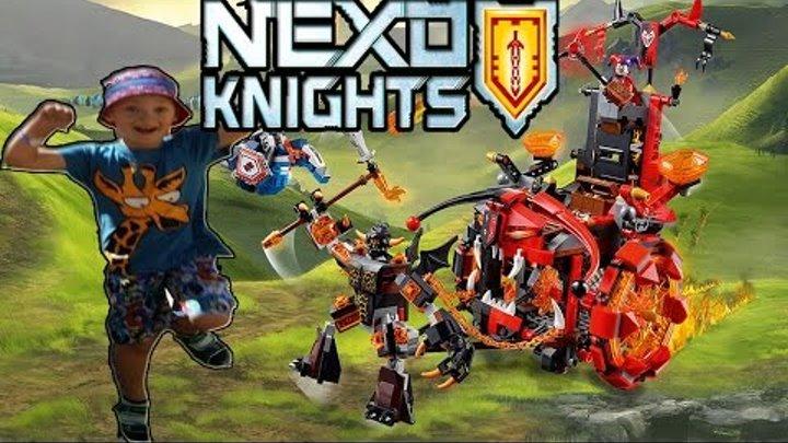 LEGO 70316 NEXO Knights Jestro's Evil Mobile/ЛЕГО НЕКСО НАЙТС РЫЦАРИ 70316 Джестро Мобиль