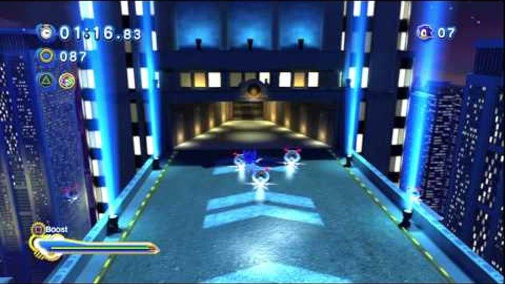 Sonic Generations Playthrough: Speed Highway Modern Super Sonic
