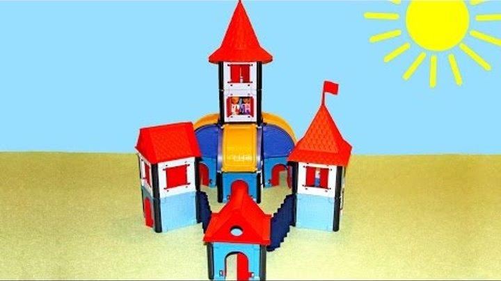 Мультики для девочек: Принцесса. Замок принцессы. Куклы: Игры для девочек. Видео для детей.