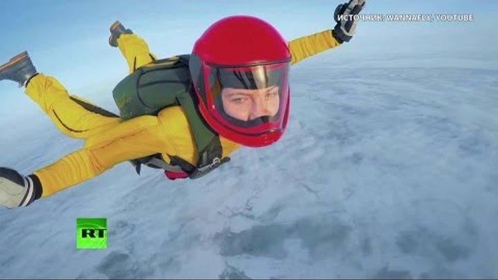 Искусство свободного полета: российские фрифлаеры снимают на GoPro невероятные трюки
