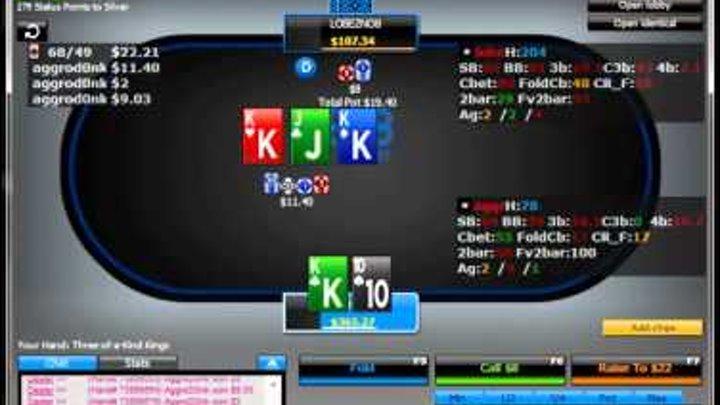 Покер вод от Sleffa. NL200 HU. Лайв видео.