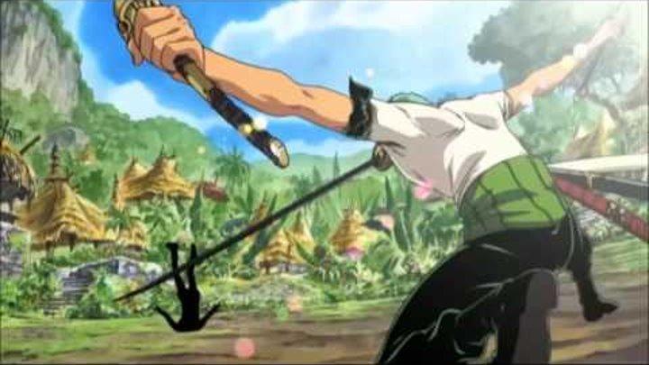 ван - пис , One Piece , Большой куш. амв amv full hd клип Roronoa Zoro Man Standing