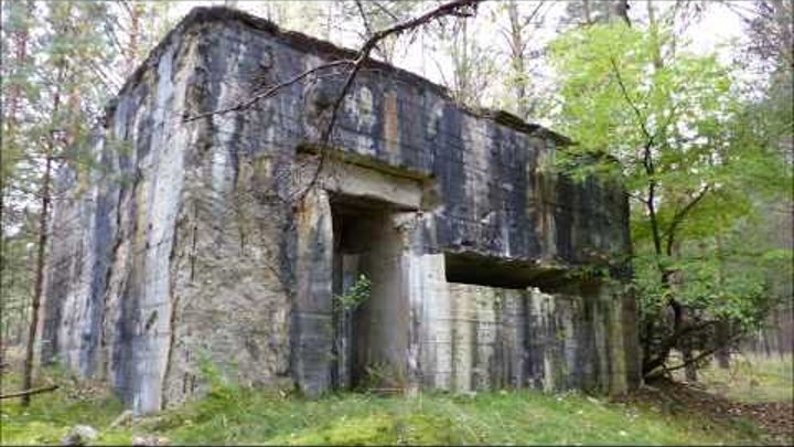 Groß Born - Борне Сулиново - Borne Sulinowo - Truppenübungsplatz - Bunker - Lost Places