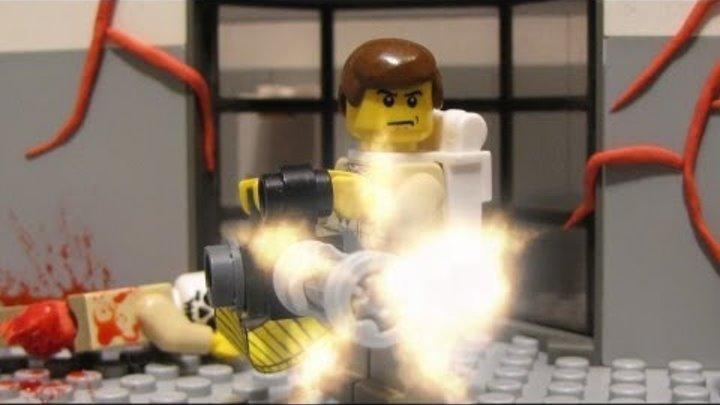 Lego zombie movie - Zombie hunt