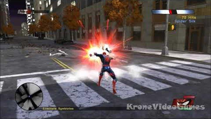 Spider-Man: Web of Shadows Gameplay (PC/HD)