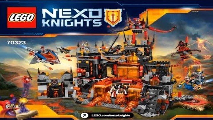 LEGO Nexo Knights 2016 JESTRO'S VOLCANO LAIR 70323 - Лего Рыцари Нексо ЛОГОВО ДЖЕСТРО