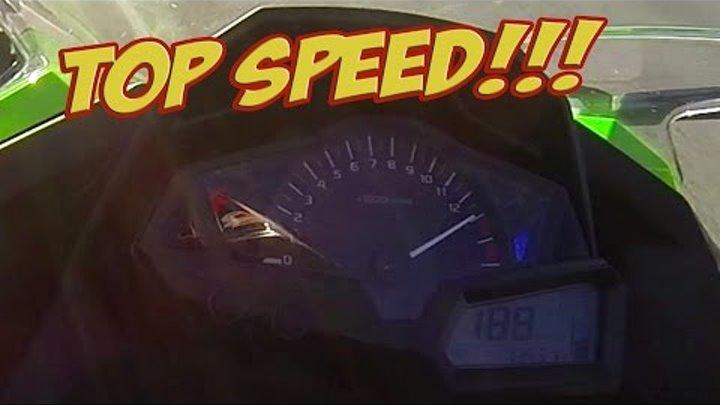 Kawasaki Ninja 300 Top Speed 188 Kph 118 Mph