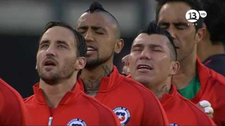 Final Copa América Centenario Chile 0 (4) Argentina 0 (2). Partido Completo HD 720.