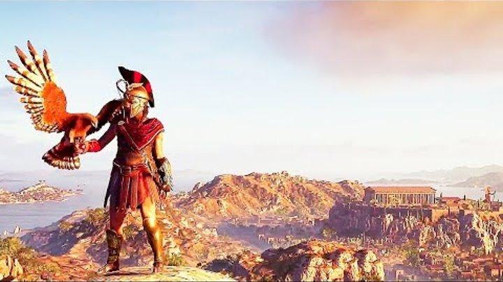 Игра Assassin's Creed: Одиссея (E3 2018) — Русский трейлер геймплея игры [Субтитры, 2018]