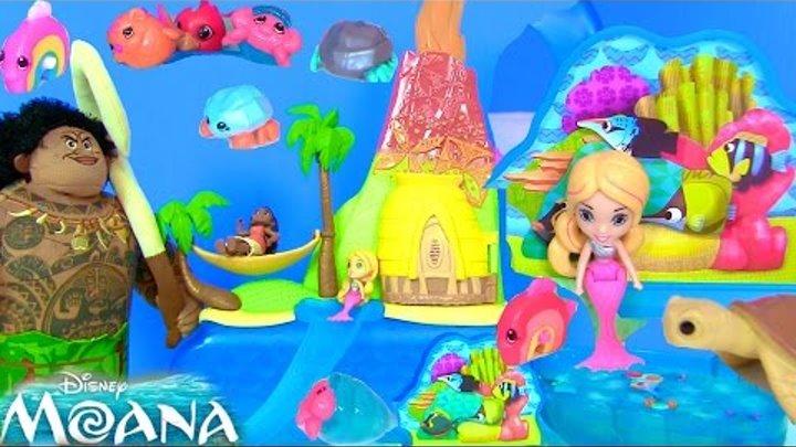 Видео для Детей Moana Русалки Color Changing Mermaids Дисней Мультфильм #Сюрпризы
