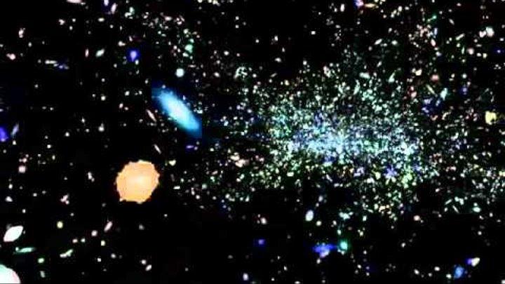 Подробная карта Вселенной в 3d