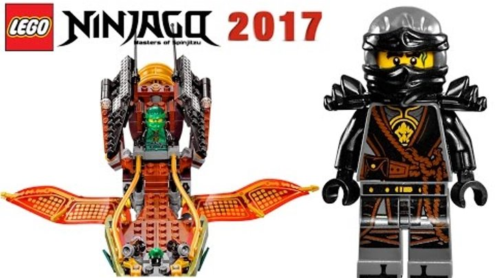 LEGO Ninjago 70623 Тень судьбы ⚡ Набор Лего 2017 по мультику Ниндзяго 7 сезон на русском языке