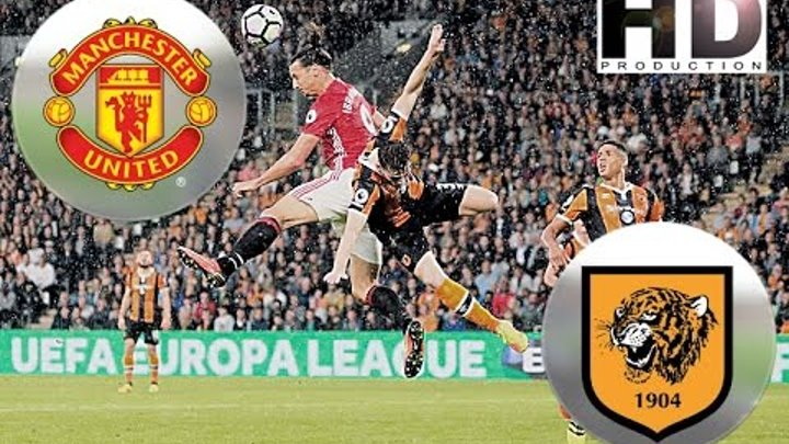 Manchester United - Hull City full match / Манчестер Юнайтед - Халл Сити полный матч 10/01/2017