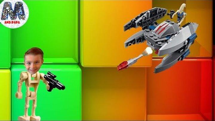 LEGO STAR WARS. Распаковка и обзор ЛЕГО СТАР ВОРС Звездные войны
