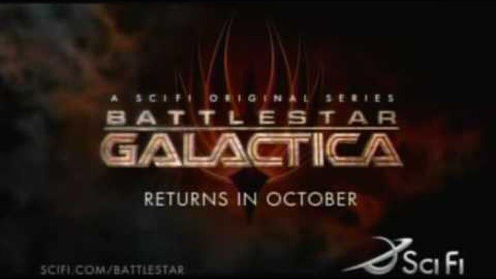 Звездный крейсер Галактика 3 сезон - трейлер (LostFilm.TV)