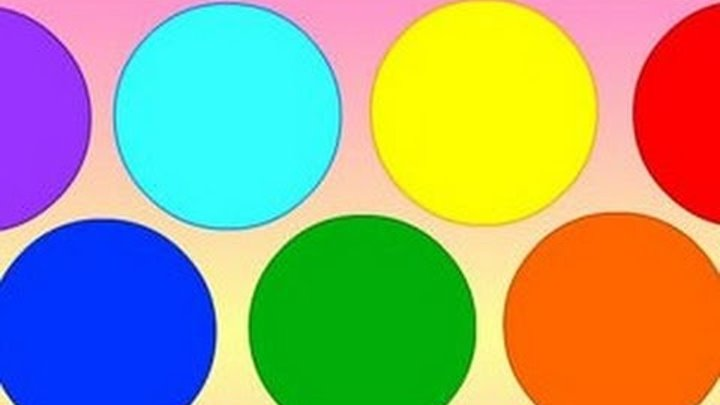 Цвета для детей, развивающее видео.Мультик-раскраска для детей Рисуем и учим цвета Идеи рукоделия.
