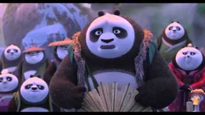 Мультфильм Кунг Фу Панда 3(2016) - трейлер на русском языке