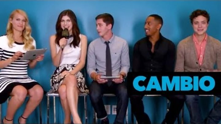 The 'Percy Jackson' Cast Talks 'Sea of Monsters' | Cambio