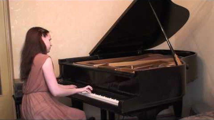 [cover] Aladdin OST: A Whole New World (Jarrod Radnich's piano solo)