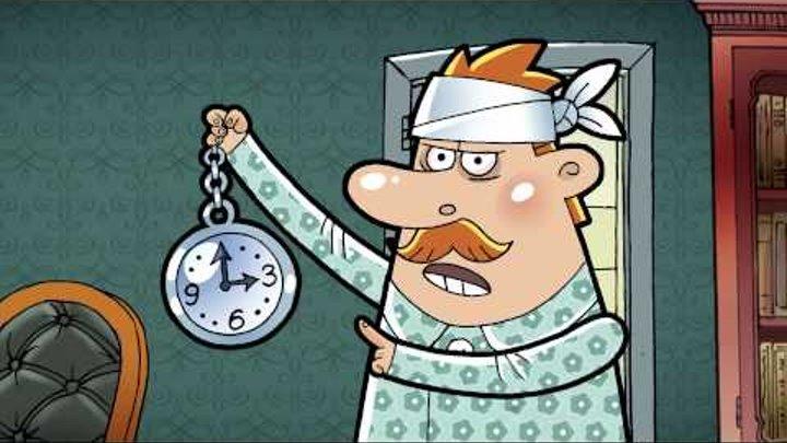 """Шерлок & Doc s01e01 """"Человек за окном"""""""