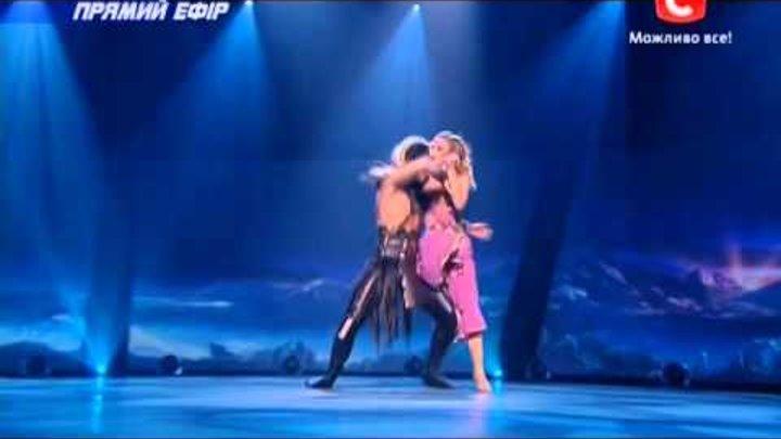 Танцуют все 6 сезон - Елена и Оля. Эфир от 20.12.2013