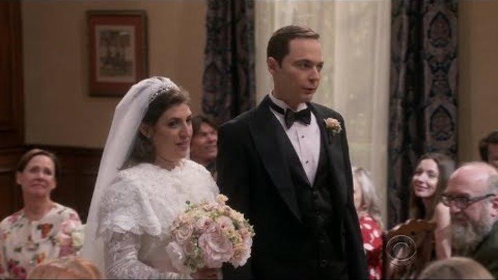 Sheldon gets married - Big Bang Theory S11E24
