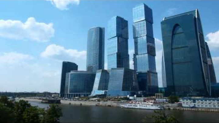 Moscow City TimeLapse HD