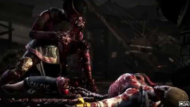 Mortal Kombat X Топ 10 самых жестоких фаталити. НЯ!