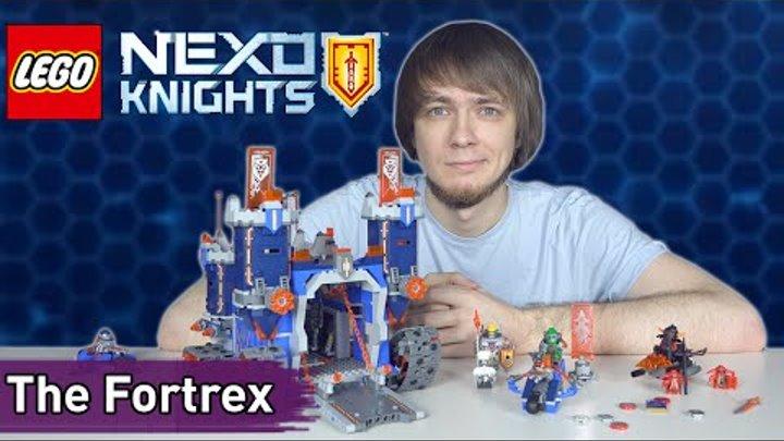 LEGO NEXO KNIGHTS: Фортрекс – мобильная крепость (70317) - Brickworm
