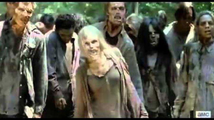 Ходячие мертвецы 6 сезон 1 серия интересные моменты / The Walking Dead Season 6