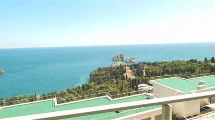 Крым, Ялта, Гурзуф. Продажа вилл у моря, в парковой зоне (лот 1200)... +7-978-015-21-05