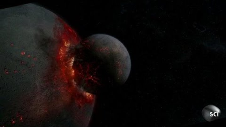 Rogue Planet Collision   How the Universe Works