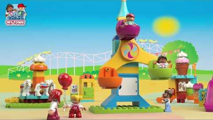 Конструктор LEGO DUPLO Town 10840 Большой парк аттракционов