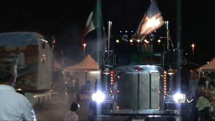 18° Raduno coast to coast truck team - Peterbilt 379 Checchin -