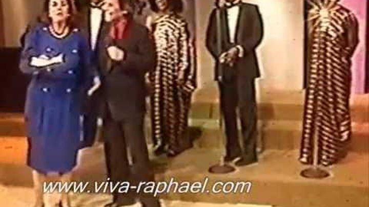 Raphael baila el baile 'Katyusha' (México). 1990