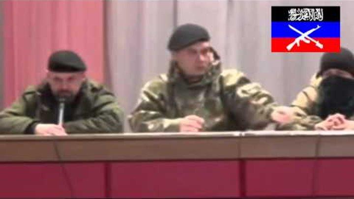 Шокирующие кадры. Первый шариатский суд ДНР на котором человека приговорили к расстрелу