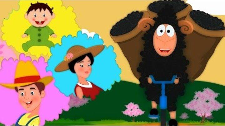 Бе-бе чёрная овечка   известный детские стишки коллекцию для детей   рифмы сборник