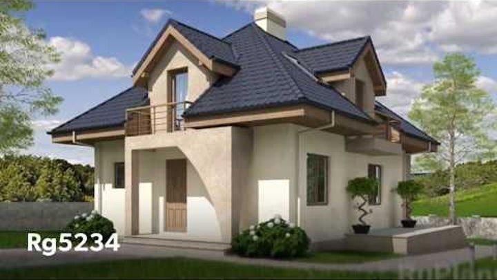 Проекты домов из пеноблоков RuPlans. ТОП-20