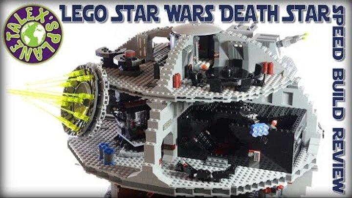 Lego Star Wars Death Star Stop Motion Review   Alexsplanet