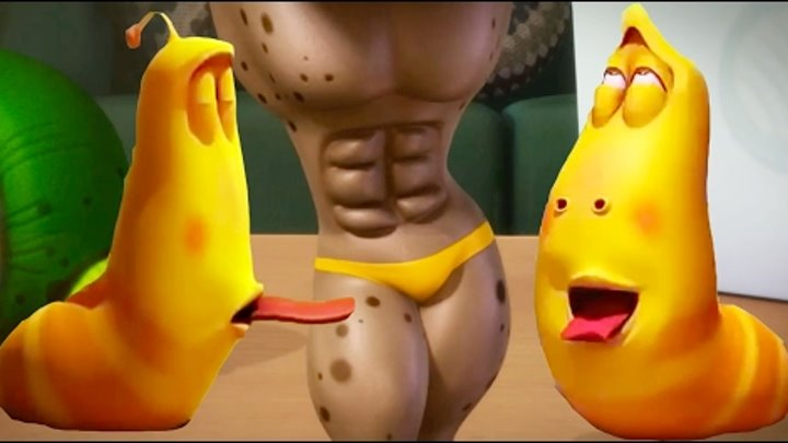 LARVA ❤️ The Best Funny cartoon 2017 HD ► La SEXY BODY ❤️ The newest compilation 2017 ♪♪ PART 44