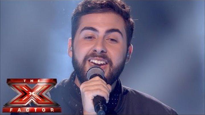 Andrea Faustini sings Mariah Carey's Hero | Live Week 8 | The X Factor UK 2014