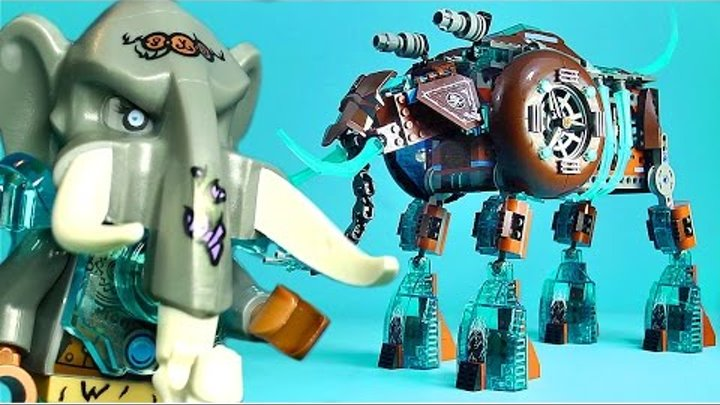 LEGO Chima 70145 Maula's Ice Mammoth Stomper